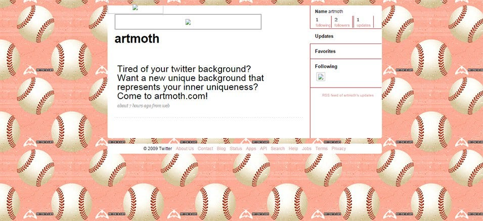 baseball twitter background 3
