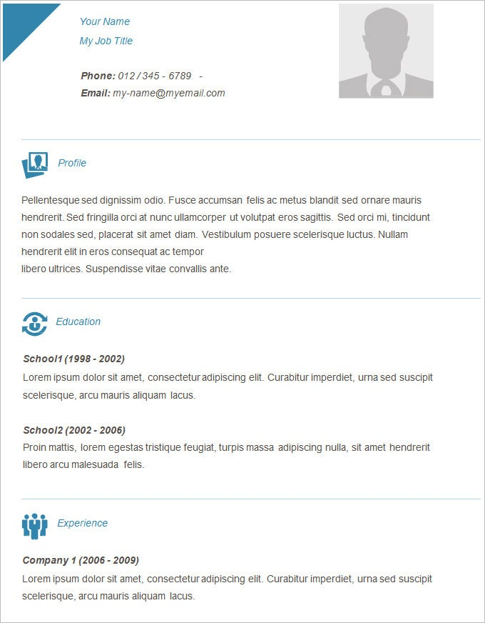 Easy Resume Templates. 11 Server Resume Sample Objective Easy