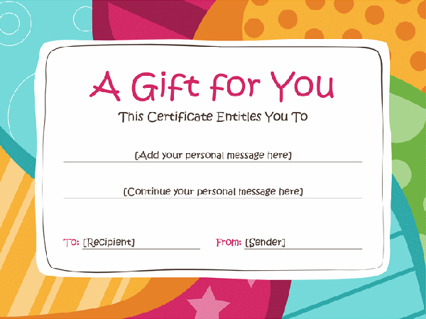 50 Creative Custom Certificate Design Templates – This Certificate Entitles You to Template
