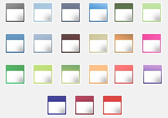 calendar icons