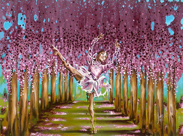 blossom by karina llergo salto blossom painting blossom fine art prints and posters for sale