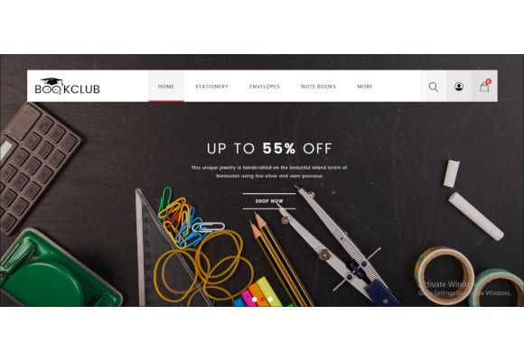book club multipurpose opencart theme