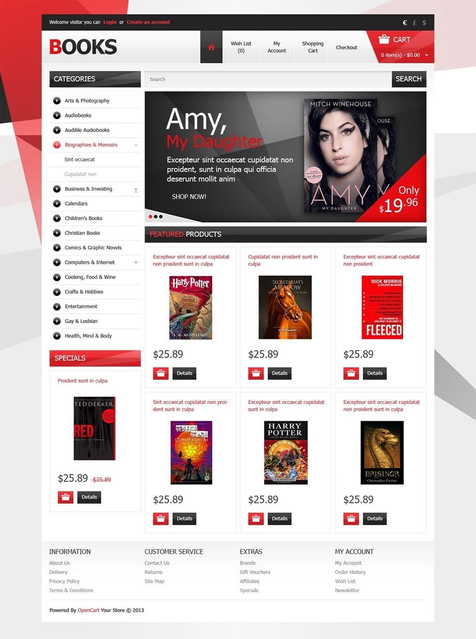 Books without Limits OpenCart Template Top Result 60 Inspirational Opencart Bookstore Template Gallery 2017 Phe2