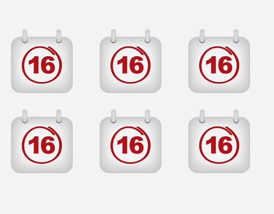 calendar icon 10