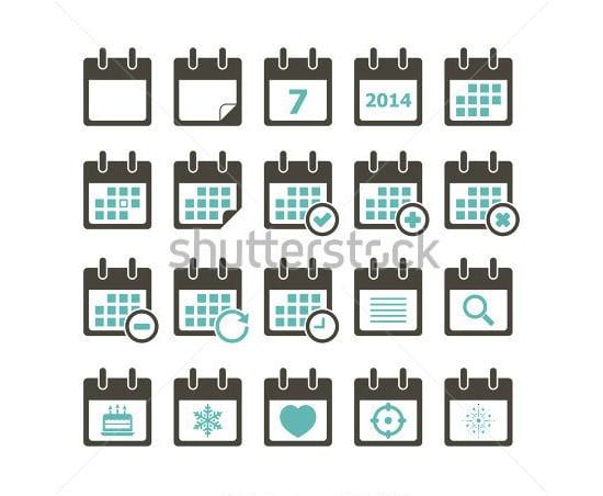 calendar icon 12