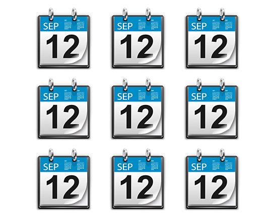 calendar icon 5