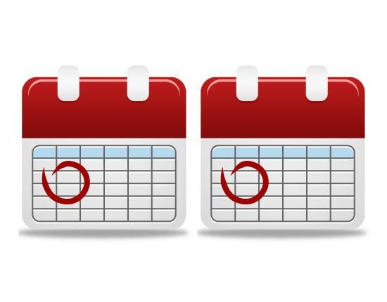 calendar icon 8