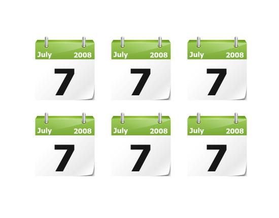 calendar icon 9