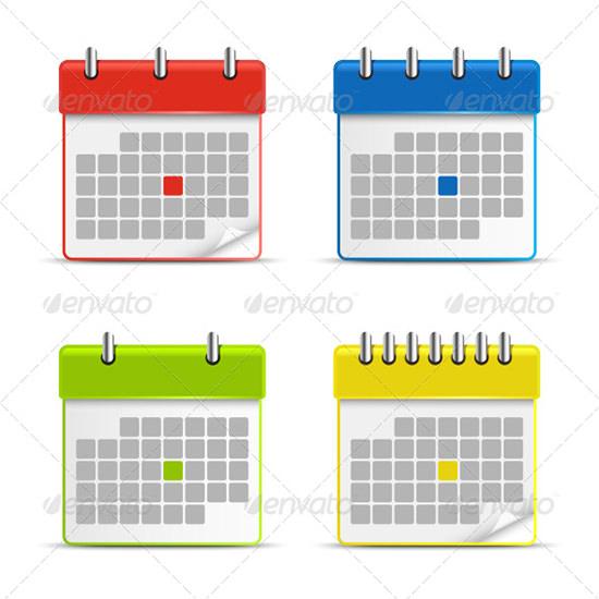 calendar icons 23