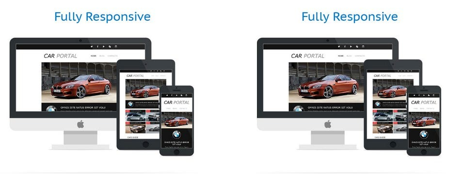 car club responsive newsletter template