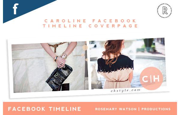 caroline facebook timeline template