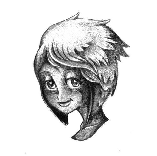 cartoon face sketch21