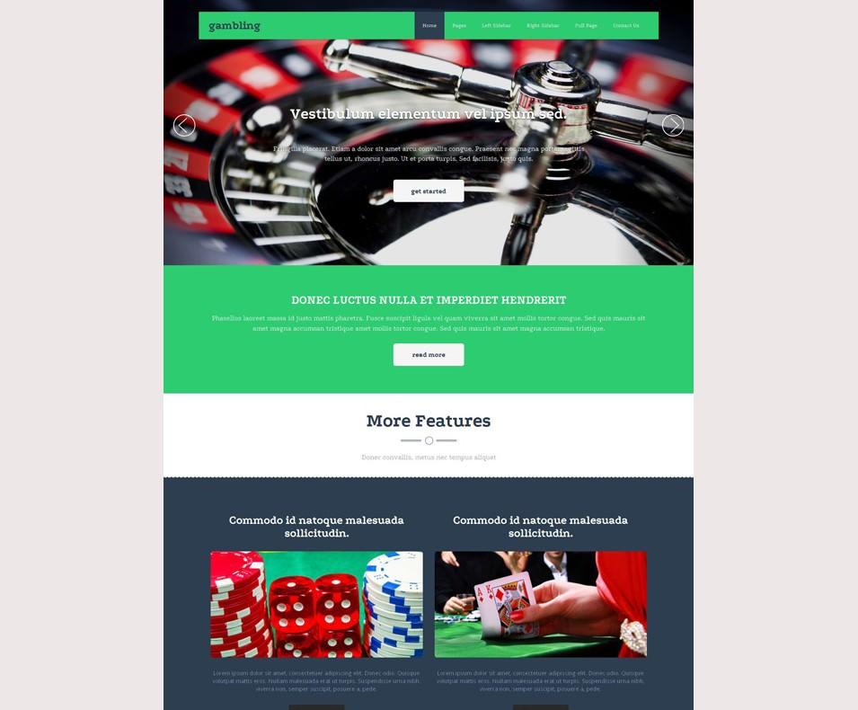 Casino Site Template