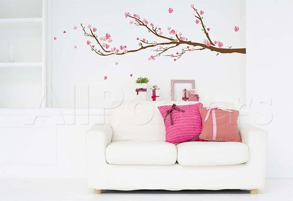 cherry blossoms wall decal sticker wall decal at allposters