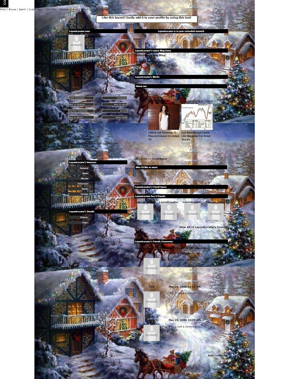 christmas snow 3