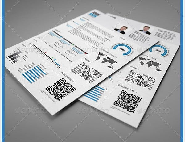 35+ Infographic Resume Templates – Free Sample, Example, Format Download!