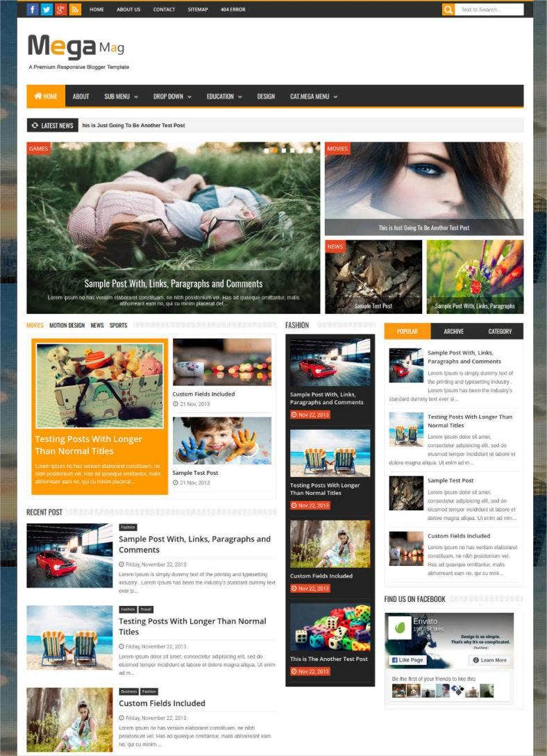 30+ Best SEO Blog Templates | Free & Premium Themes | Free ...