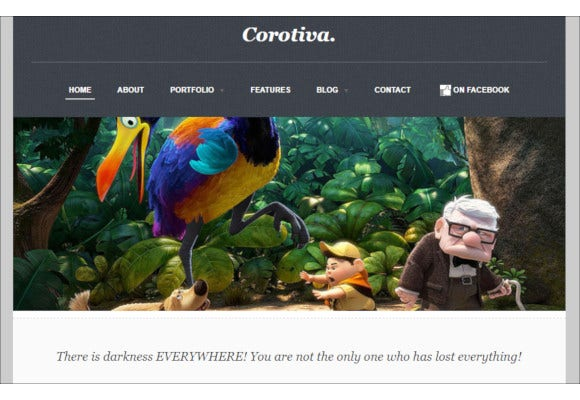 corotiva facebook business template