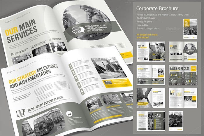corporate brochure 4