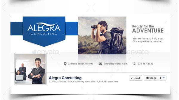 20 facebook business page templates free premium templates facebook business page template accmission Image collections