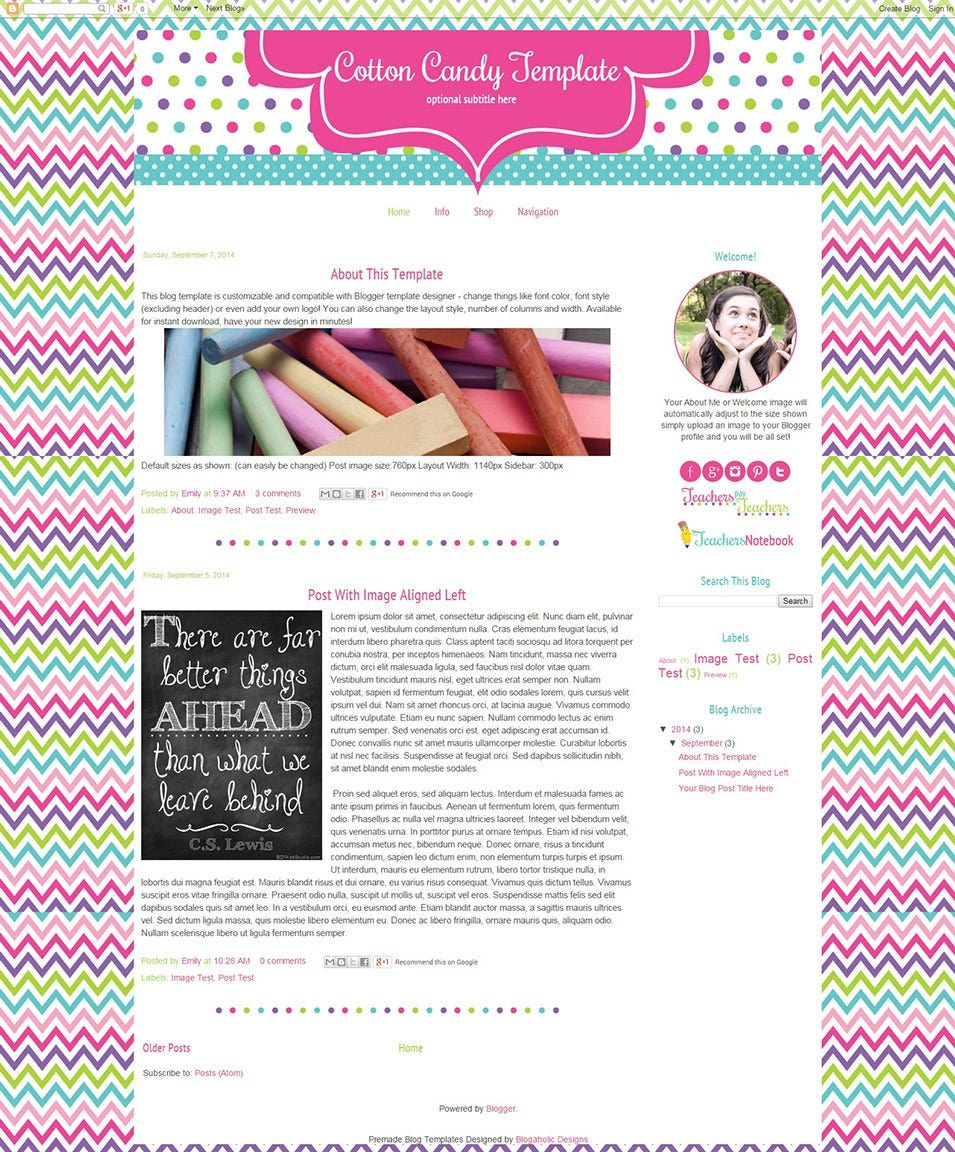 best blog templates  u0026 themes for teachers