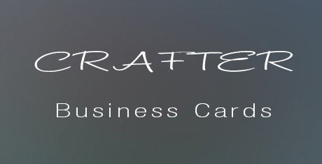 crafter business cards