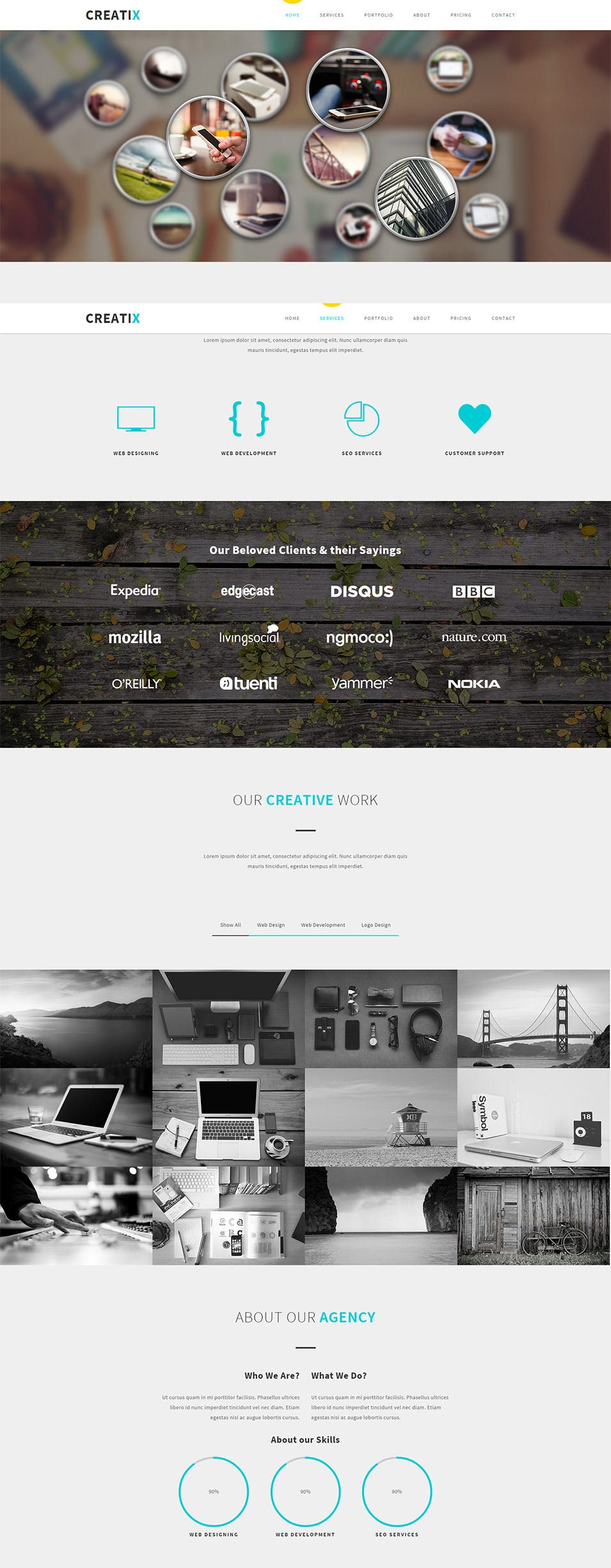 25+ Best Free CSS3 Websites Templates for Design Inspiration ...