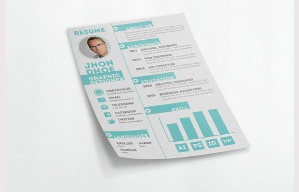 creative resume template1