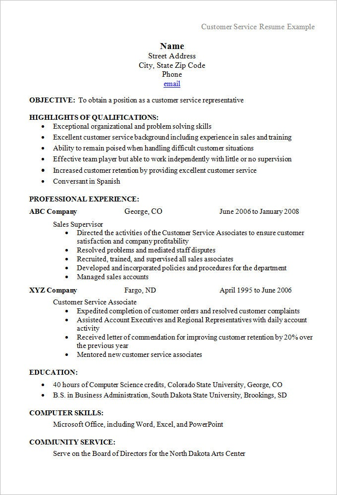 Chronological Resume Template 25 Free Samples Examples