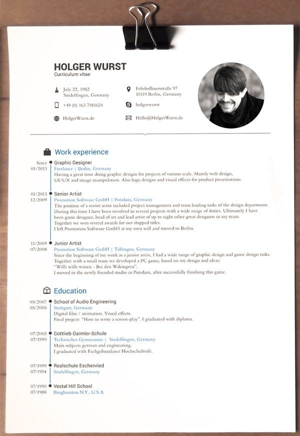 Resume Templates For Pages 3 pages resumecv template Designer Cv Template