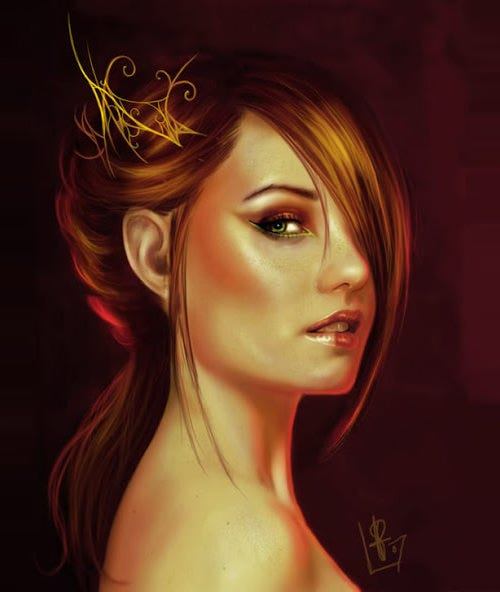 digital portrait painting29