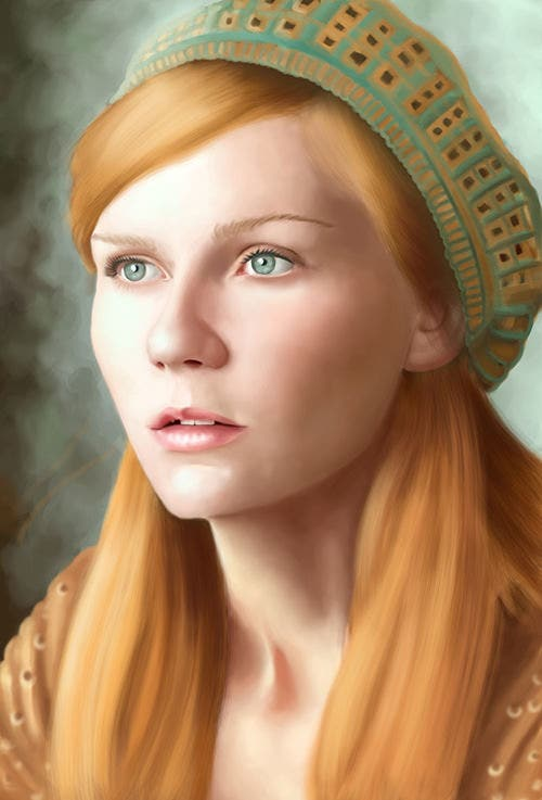 digital portrait painting35