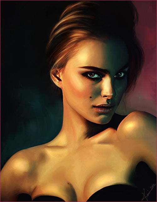 digital portrait painting36