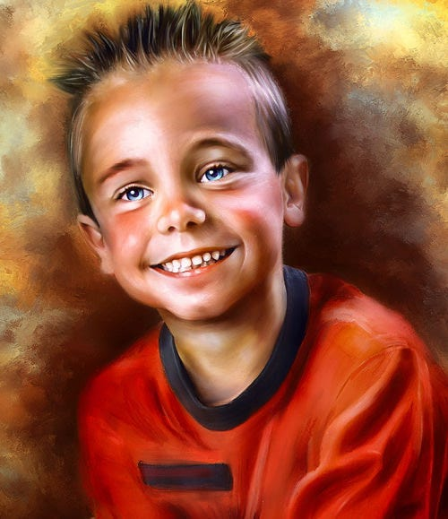 digital portrait painting37