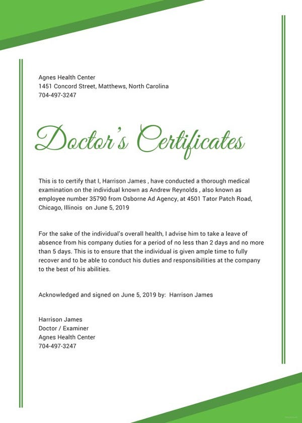 76 creative custom certificate design templates free premium doctor certificate template free download yelopaper Image collections