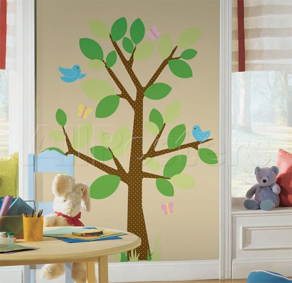 dotted tree wall decal at allposters
