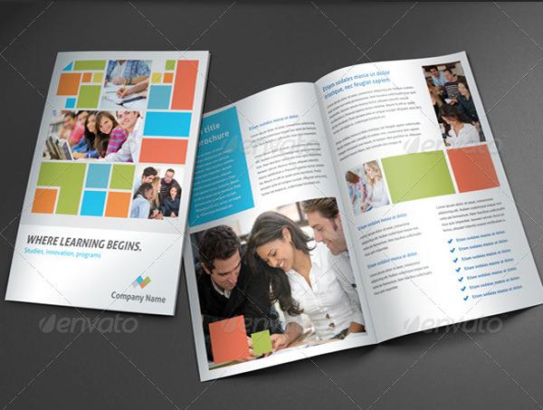 25 psd college brochure templates designs free for College brochure design ideas