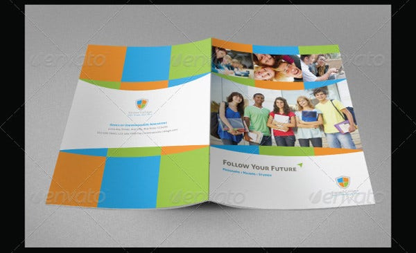 educational brochure template 2