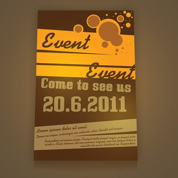 Stunning Psd Event Flyer Templates  Designs  Free  Premium