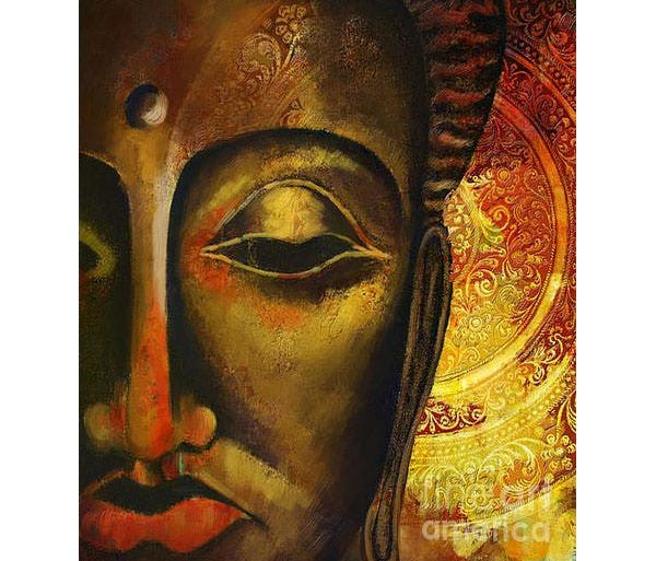 face of buddha canvas print canvas art by corporate art task force