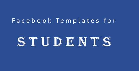facebooktemplatesforstudents