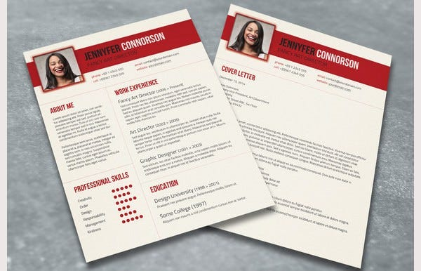 psd resume template 51 free samples examples format