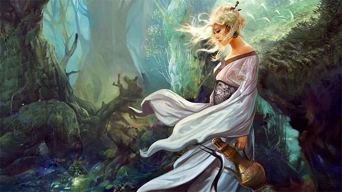 fantasy women wallpaper
