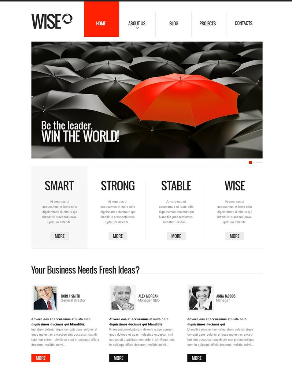 12 Best Financial Advisor Website Templates | Free & Premium Templates