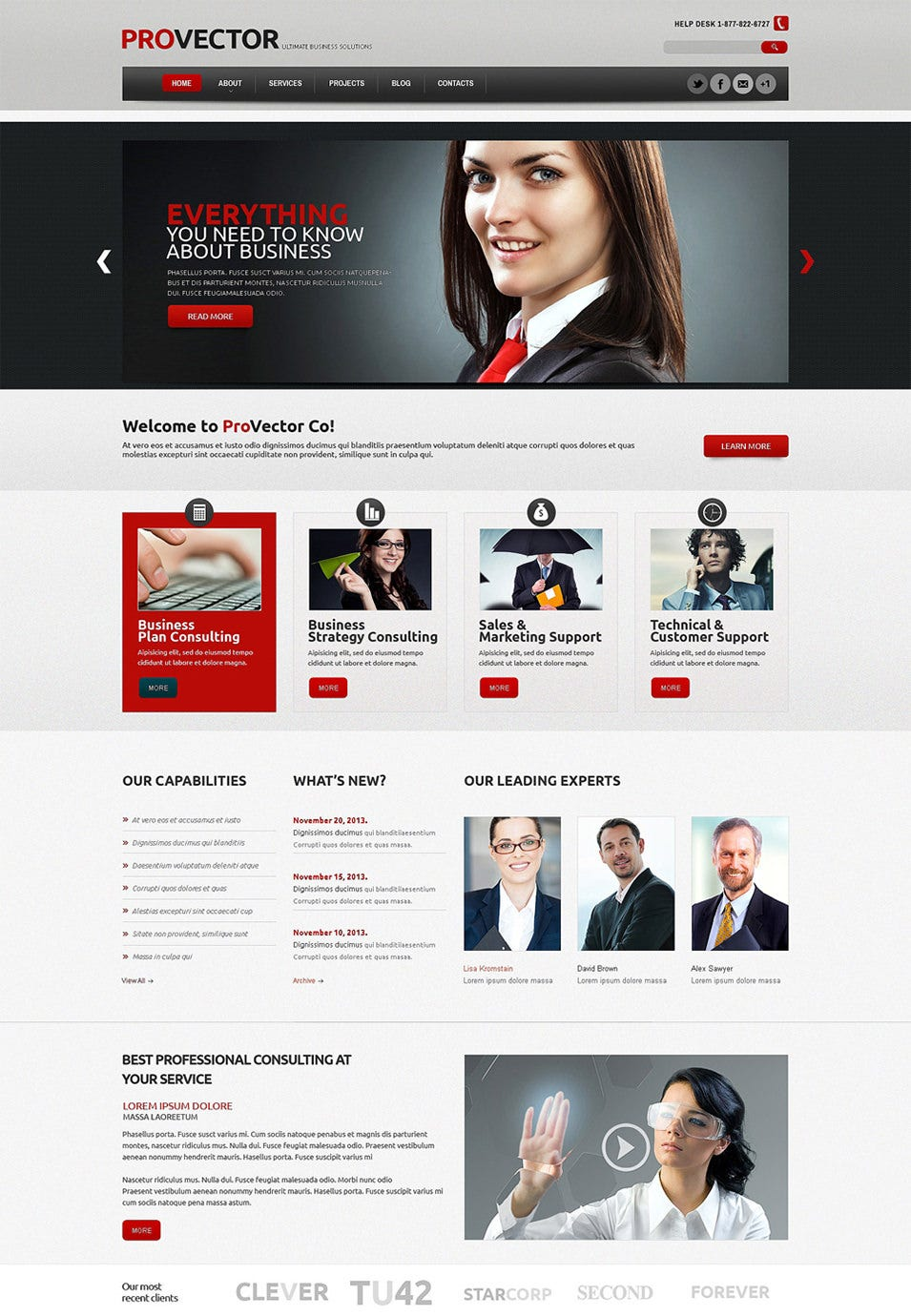 financial advisor wordpress theme3
