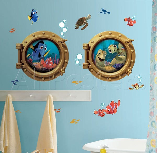 finding nemo peel stick giant wall decals wall decal at allposters
