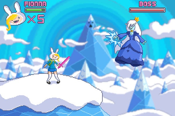 Fionna's Game Pixel Art