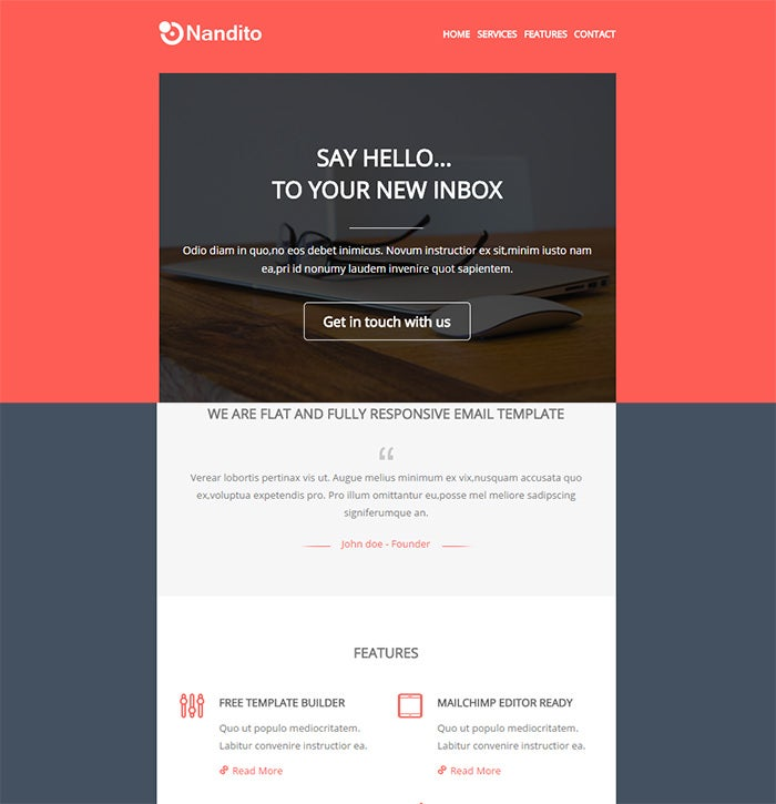 flat responsive email template1
