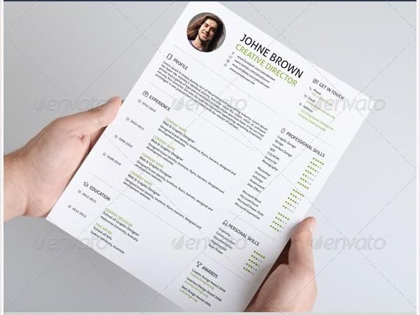 flat resume3