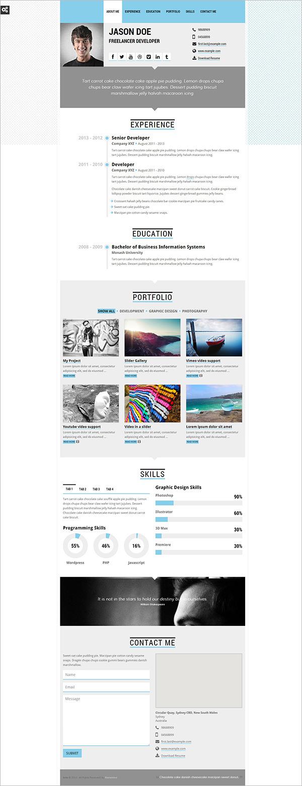 microsoft resume templates download – Microsoft Resume Template Download